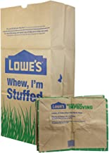 Lowe's 30 Gallon Heavy Duty Brown Paper Lawn and Refuse Bags for Home and Garden (10 Count), Large (LOWESLL)