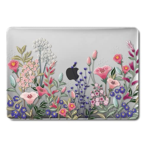 watch a78ac 96e48 Floral MacBook Air 13 inch Case: Amazon.co.uk
