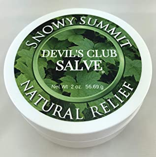Devil's Club Salve, Snowy Summit, Salve, Pain Relief, Natural Relief, Devil's Club, All Natural, Herbal Salve, Alaska Devil's Club Salve