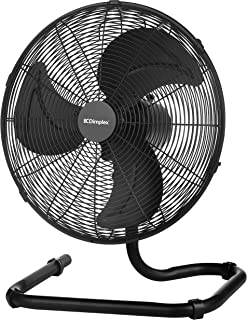 DIMPLEX 40 cm High Velocity Oscillating Floor Fan - Matte Black Finish (DCFF40MB)