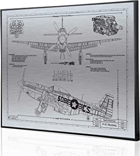 Best p 51d mustang blueprints Reviews