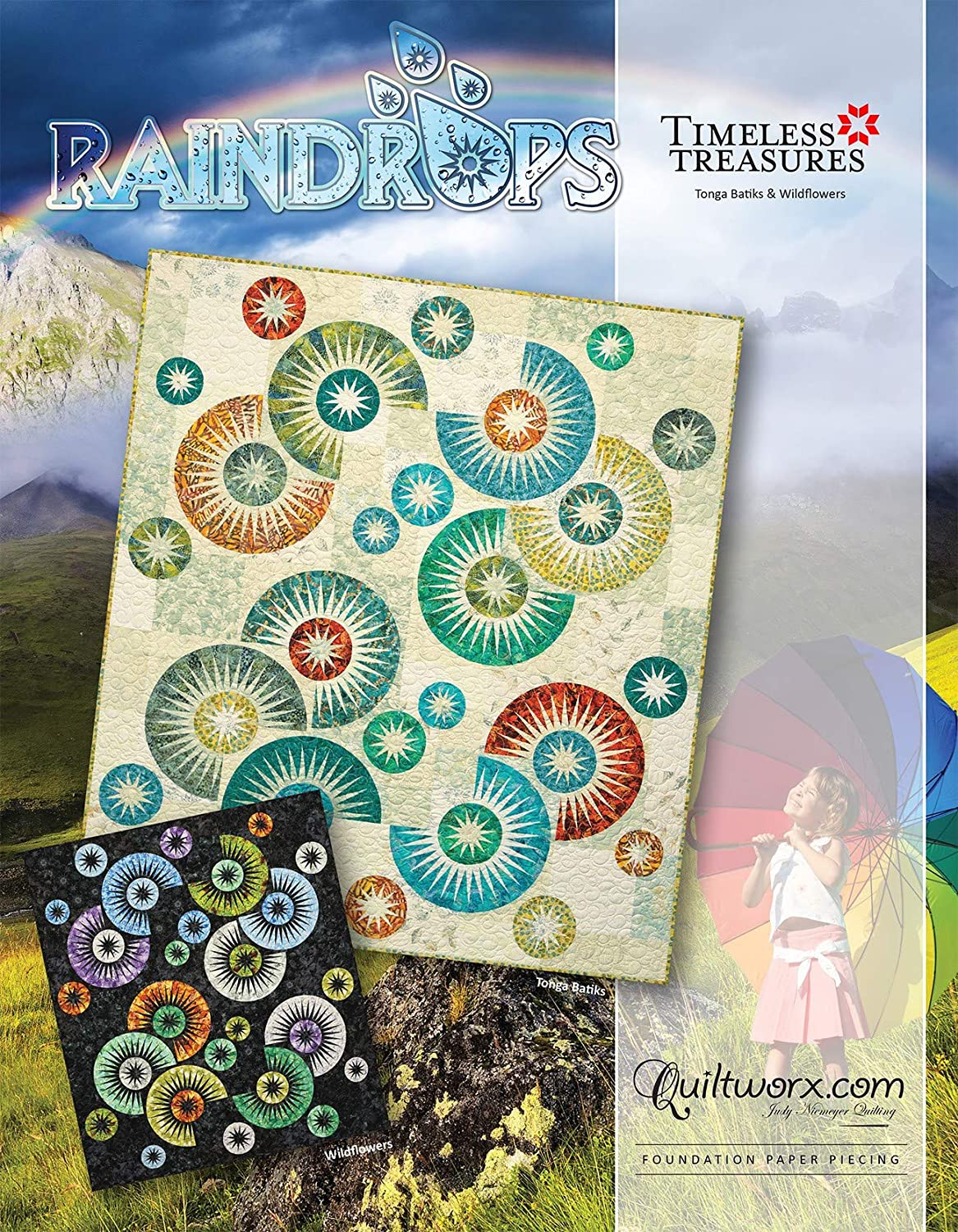 Max 58% OFF Raindrops Quilt Pattern Judy Max 74% OFF Niemeyer by