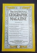 National Geographic Magazine, November 1938