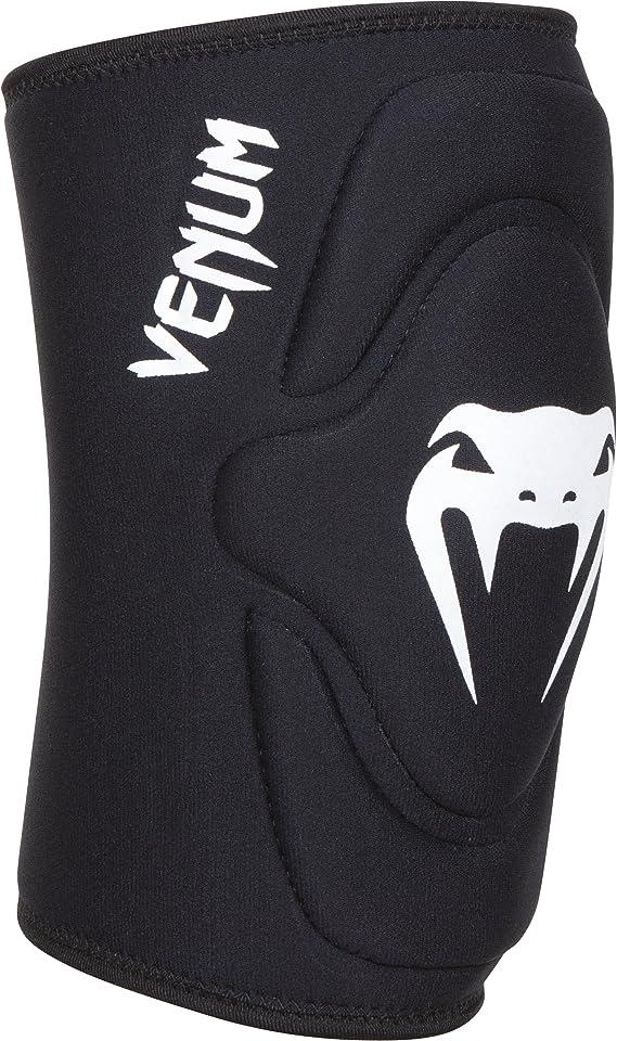 """Venum """"Kontact"""" Lycra/Gel Knee Pads, Black, X-Large"""