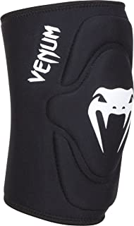 "Venum ""Kontact"" Lycra/Gel Knee Pads, Black, Medium/Large"