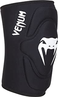 Venum Kontact Lycra/Gel Knee Pads, Black, Medium/Large