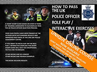 How To Pass The UK Police Role Play / Interactive Exercises