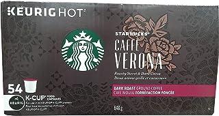 Starbucks Caffe Verona, Dark, K-Cup Portion Pack for Keurig K-Cup Brewers 54-Count