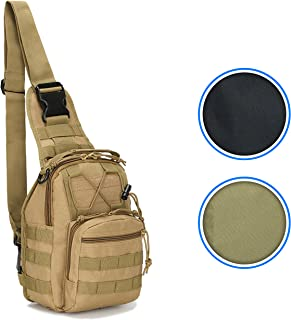 Tactical MOLLE Military Sling Daypack - Small Messenger Bag