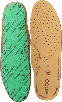 ECCO Comfort Fiber System Leather Insole