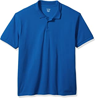 Classroom Men's Short-Sleeve Pique Polo Shirt