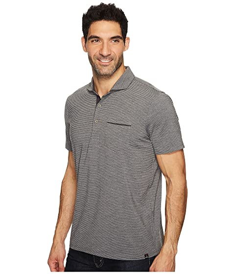 Prana Pacer Short Sleeve Polo Charcoal Buy Cheap Low Price Fee Shipping eJpdkGgAR