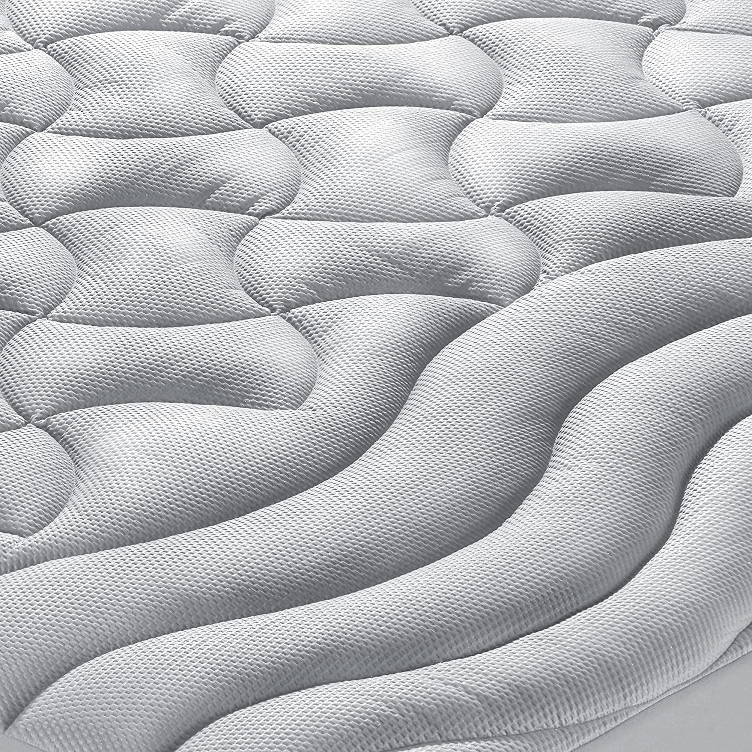 SLEEP ZONE Athlete-Grade Mattress Max 82% OFF Pad S Cover Cooling Overfilled OFFicial shop