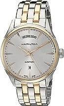 Hamilton Men's H42525251 Jazz master Analog Display Swiss Automatic Two Tone Watch