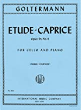Goltermann, Georg - Etude-Caprice, Op. 54, No. 4 - Cello and Piano - edited by Pierre Fournier