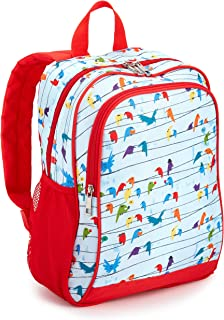 """Amazon Exclusive Kids Backpack, Birds (Compatible with Kids Fire 7""""-8"""" Tablet and Kindle Kids Edition)"""