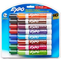 Deals on 16-Pack Expo Low Odor Dry Erase Markers