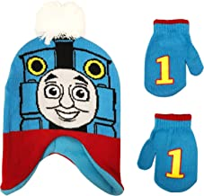 Thomas Toddler Boys Beanie Winter Hat and Mittens Cold Weather Set, Age 2-4