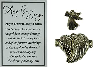 Ganz Angel Wings Prayer Box with Story Card (Gold)