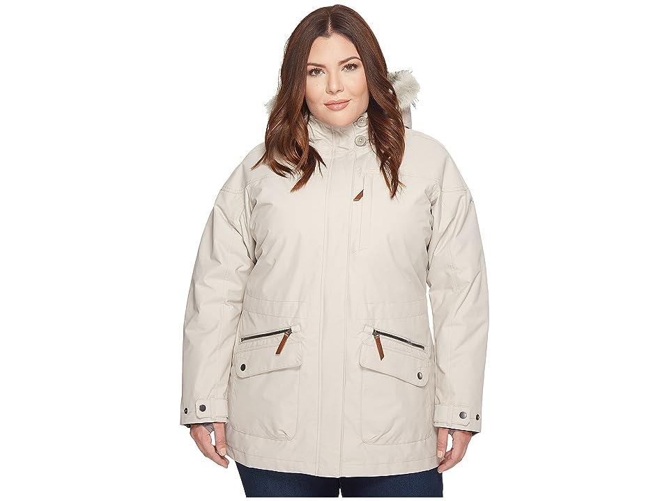 Columbia Plus Size Carson Pass IC Jacket (Light Cloud) Women