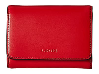 Lodis Accessories Audrey RFID Mallory French Purse (Red RFID) Wallet Handbags