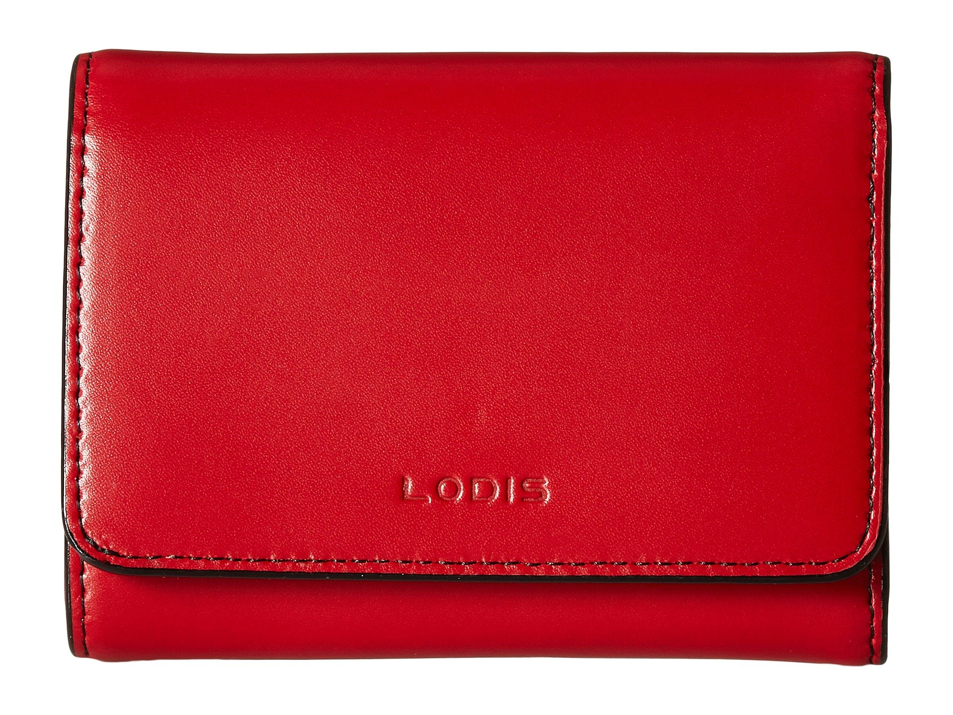 Purse Accessories Audrey Red French Lodis Rfid Mallory 60X01w