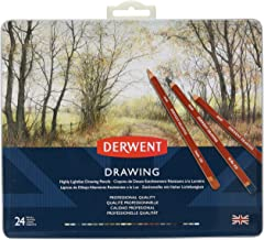 pencils coloured derwent artist tin 24