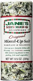 Jane's Krazy Seasonings Mixed Up Salt, 9.5 Ounce (Pack of 12)