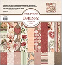 Bo Bunny Only You Paper Collection Pack, 12