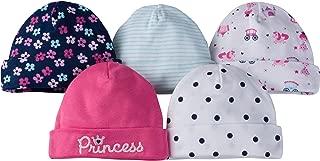 Baby Girls' 5-Pack Caps