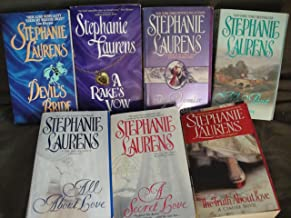 Stephanie Laurens (Cynster Novel) Collection: Devil's Bride+A Rake's Vow+The Promise in a Kiss+All Aout Passion+All About ...