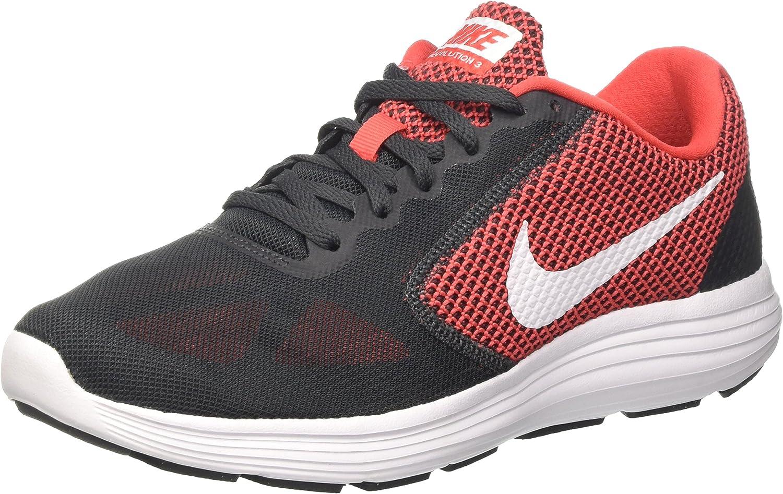 Nike Herren Herren Herren Revolution 3 Laufschuhe Mehrfarbig (University rot Metallic Silber-schwarz-Weiß 600) 41 EU 5d8