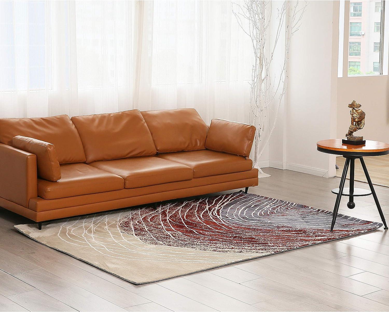 Eleho 予約販売品 Cashmere Area Rug 全品最安値に挑戦 Indoor A Carpet 5.2x7.5Feet Fingerprint