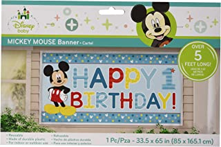 Mickey Fun to Be One Horizontal Giant Sign Banner