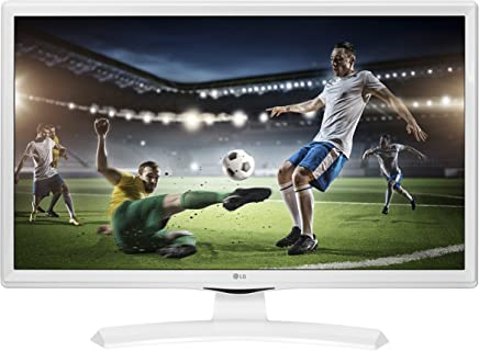 """LG 28TK41 Monitor TV 28"""" LED HD, DVB/T2/S2 0V-WZ, Ottimo per Camera da Letto, Bianco - Confronta prezzi"""