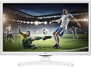 LG 24TK410VW 61 cm (24 Zoll) HD Flachbildschirm matt weiß – PC-Monitor (61 cm (24..