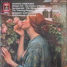 Rossini: Overtures - Herbert von Karajan, The Philharmonia Orchestra (EMI, Remastered) (LP Record)