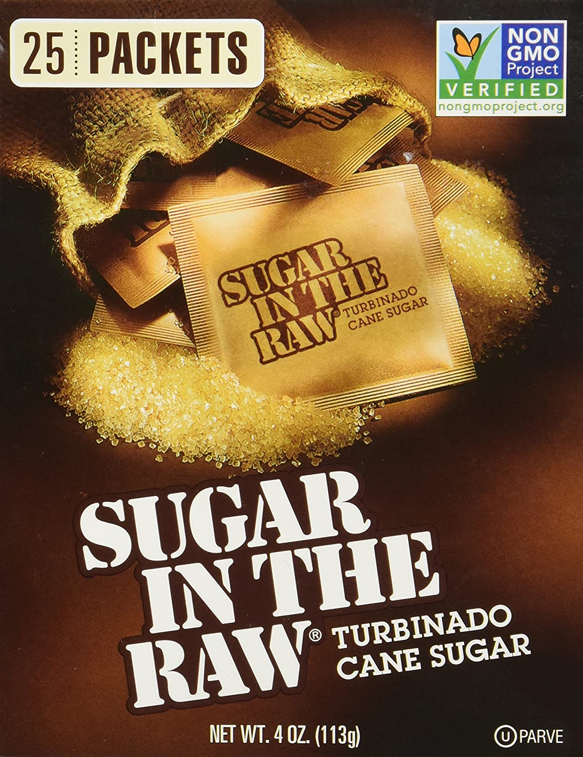SUGAR Brand new IN Direct store THE RAW 25 PACKETS