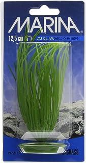 Marina plastikowa roślina do akwarium do trawy włosów, 12,5 cm