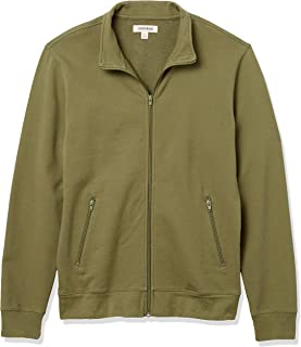 Amazon Brand - Goodthreads Men's Lightweight French Terry Track Jacket