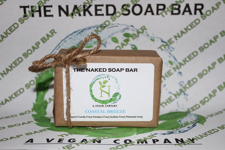 latest THE NAKED SOAP Classic BAR Soap - COASTAL BREEZE