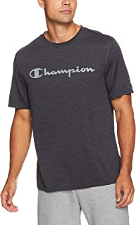Champion Men's Double Dry Mesh Heather Script Tee