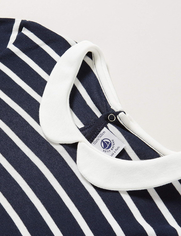 Petit Bateau 5604101 Tee Shirt Fille