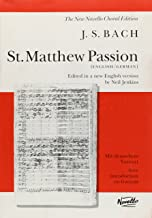 St. Matthew Passion Vocal Score (New Novello Choral Edition)