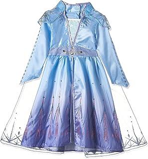 Rubies Disney Frozen 2 Elsa Travel Classic Girl Costume, Toddler, blue