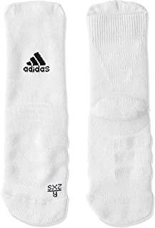 adidas Men's Alphaskin Crew Cushioning Socken, Black/White(Black), 4042(Not Applicable)