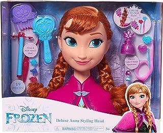 Frozen Disney Anna Deluxe Styling Head