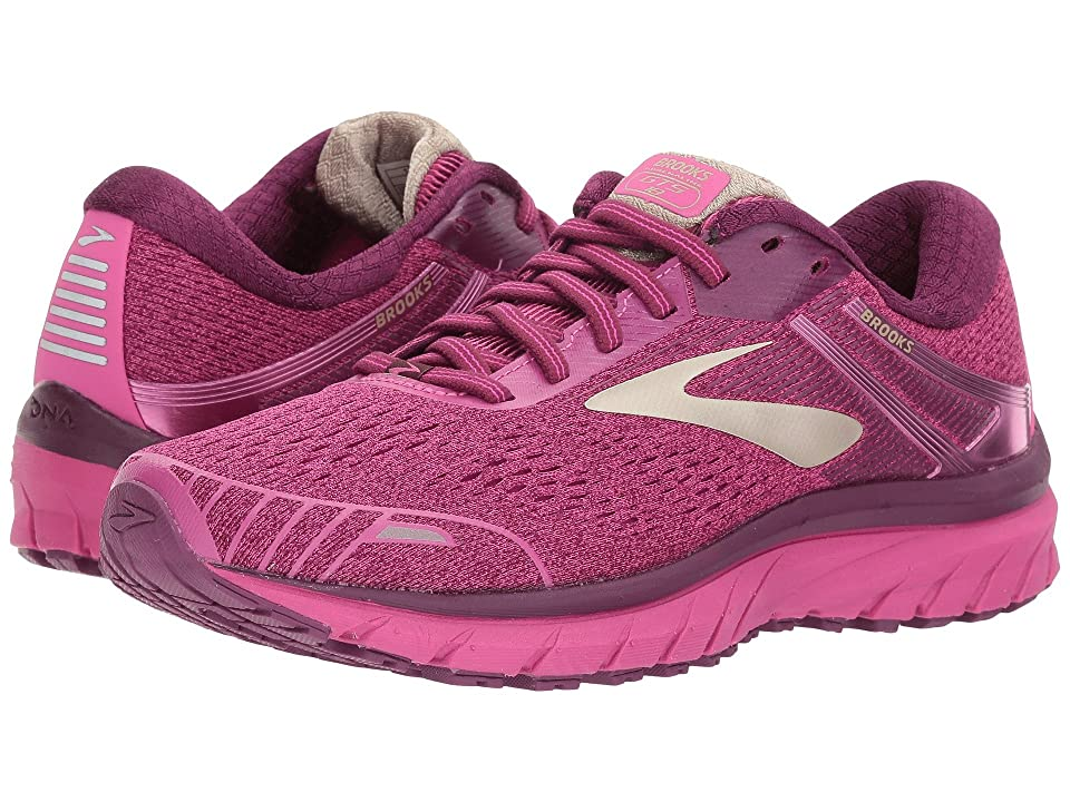 Brooks Adrenaline GTS 18 (Pink/Plum/Champagne) Women