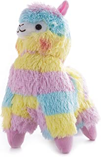 WEWILL Rainbow Alpaca Stuffed Animals Adorable Colorful Soft Plush Toy Gift for Kids on Christmas Birthday, 14-Inch