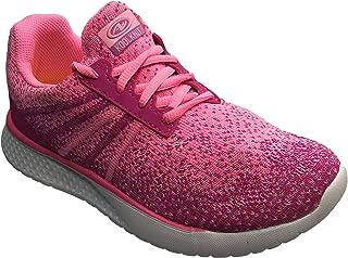 Girls Lightweight Knit Low Profile Running Shoe